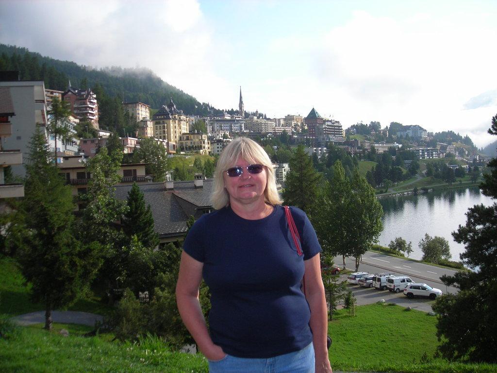 Martha in St. Moritz Switzerland