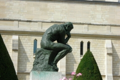 The Thinker by Auguste Rodin (1840 -1917)